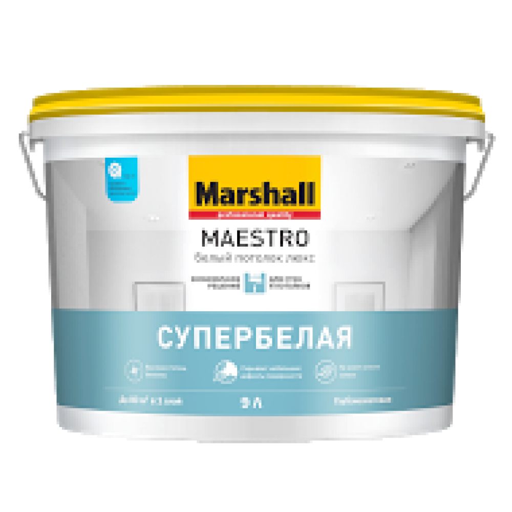 Marshall Maestro Белый Потолок Люкс / Маршал Маестро Белый Потолок Люкс краска для потолков